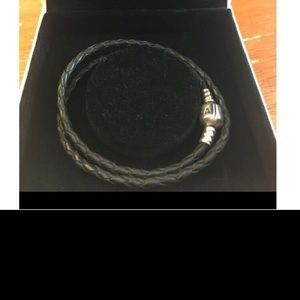 Pandora double bracelet